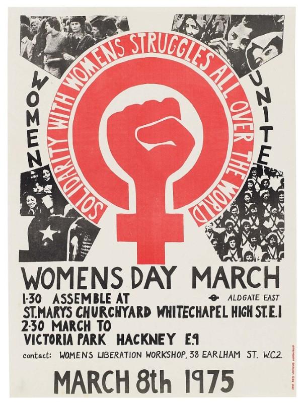 Women's day march / Día Internacional de la Mujer