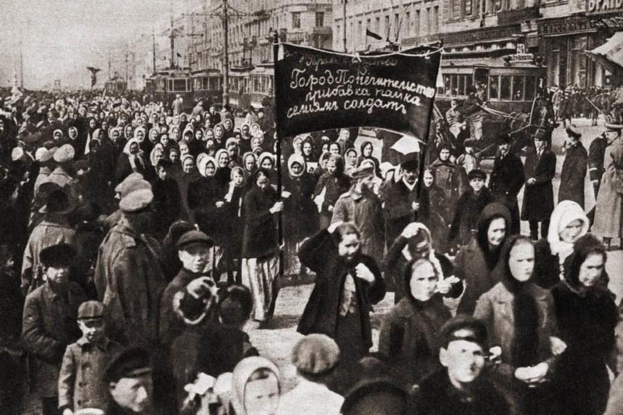 Petrograd, San Petersburgo, 1917