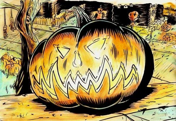historia del origen de halloween