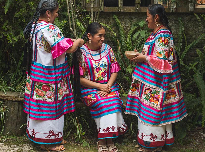 Vestimenta de Oaxaca: Huautla de Jiménez