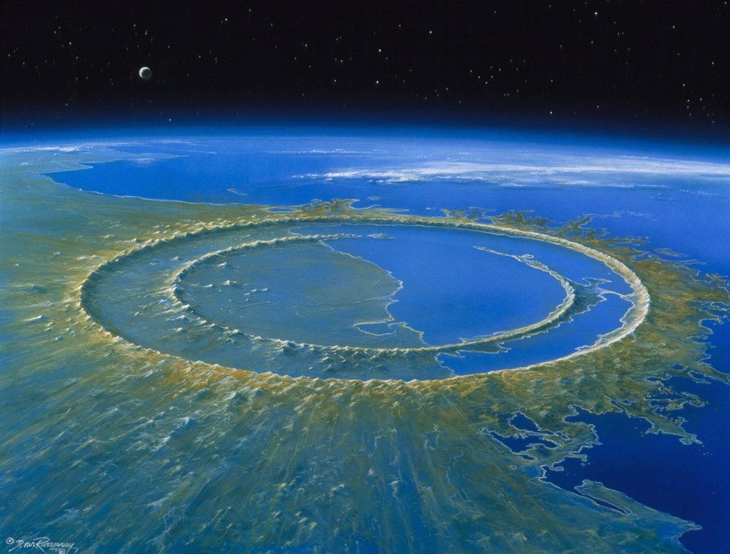 El Impacto Del Meteorito En Yucatan No Solo Extinguio Dinosaurios Muy Interesante El meteorito que causó la extinción de los dinosaurios y el esplendor de los mamíferos. el impacto del meteorito en yucatan no