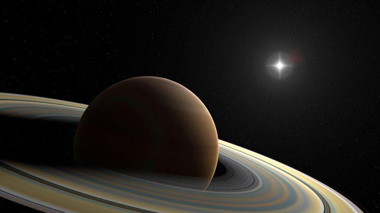 día en Saturno