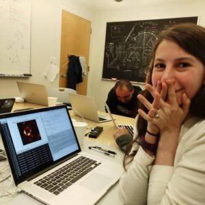Katie Bouman agujero negro
