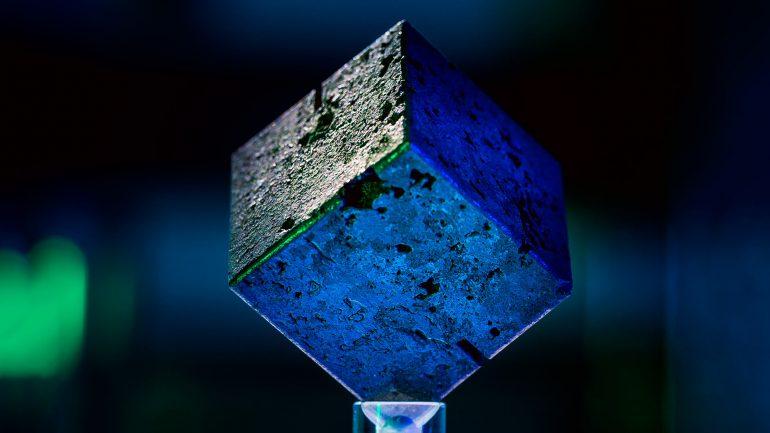 cubos de uranio