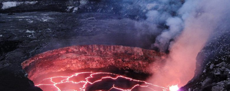 nacimiento de un volcán