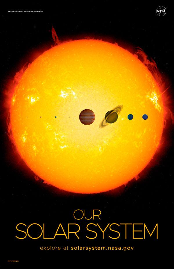 pósters de la NASA