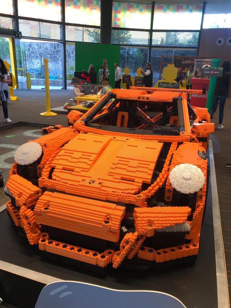 de campamento con Lego