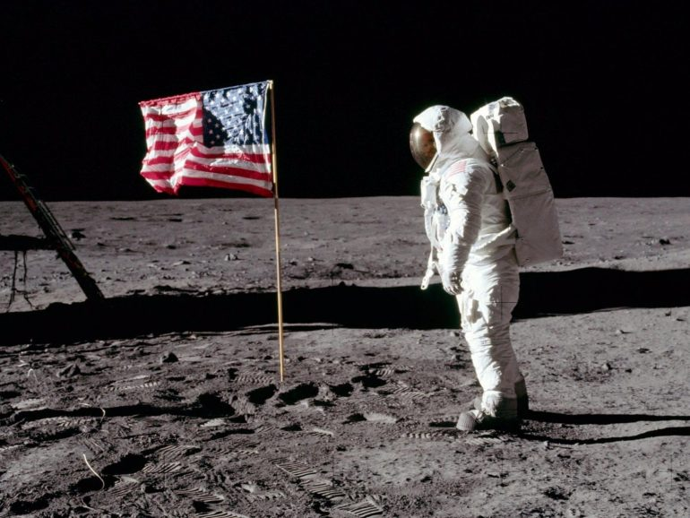 llegado a la Luna
