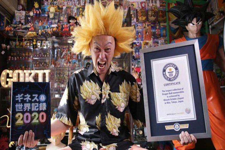 mayor coleccionista de Dragon Ball