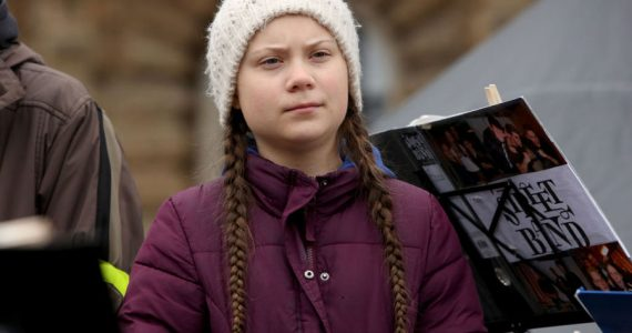 Greta Thunberg huelga