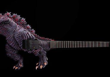 guitarra de godzilla