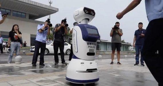 policías robots