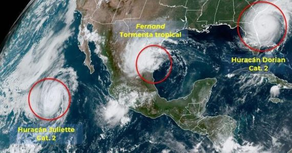 Fernand tormenta tropical