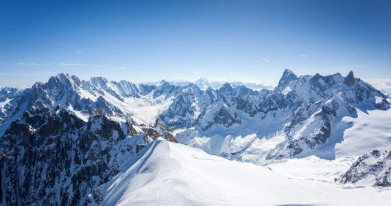 glaciar Mont Blanc