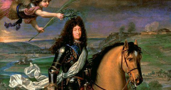 Luis XIV rey