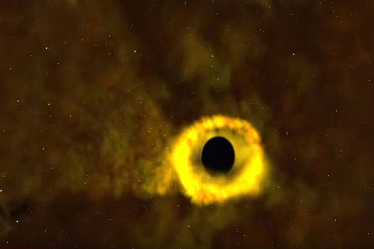 agujero negro estrella