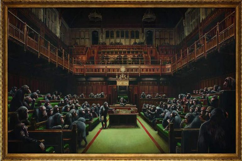 Banksy parlamento