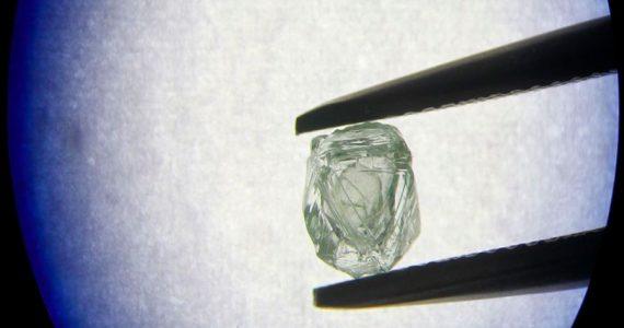 diamante dentro