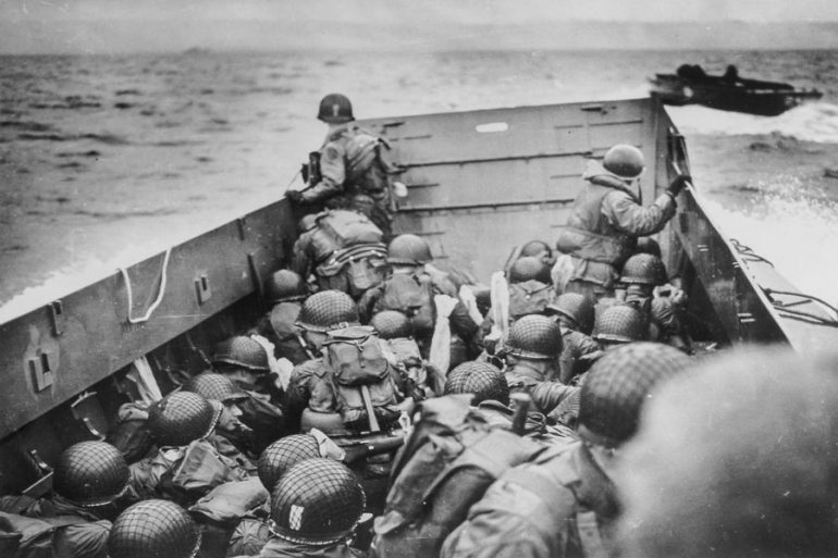 cinta desembarco de Normandía