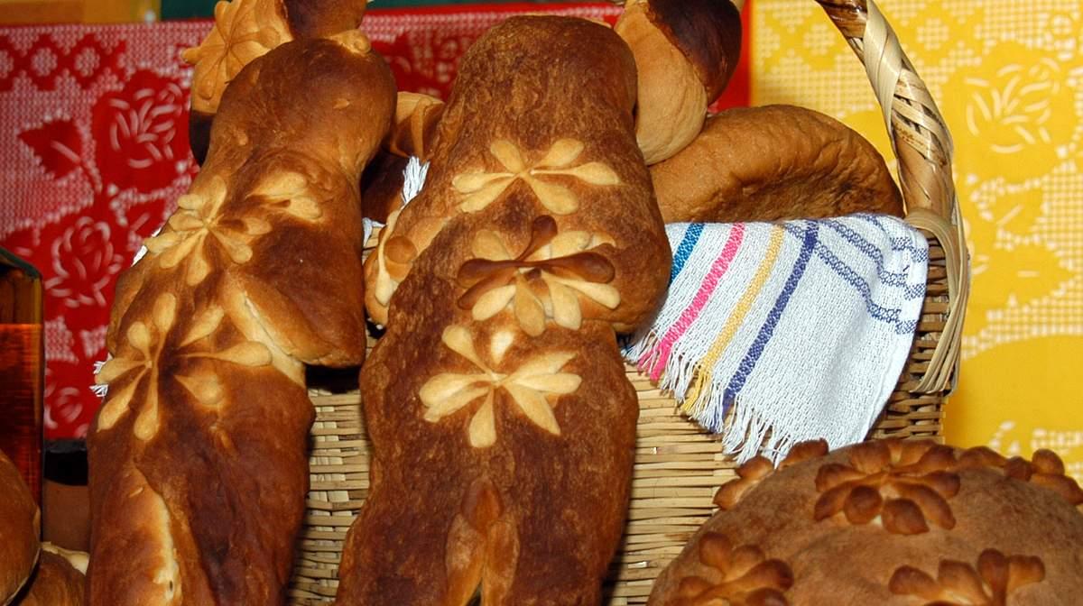 Pan de muerto tradicional en México