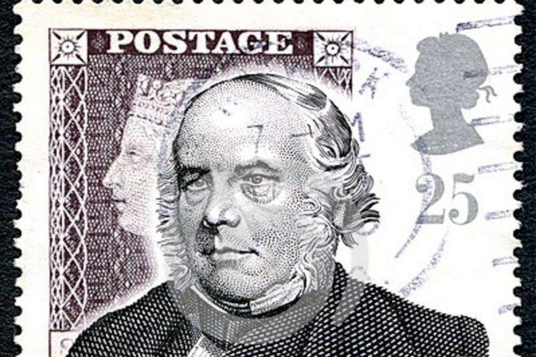 sello postal