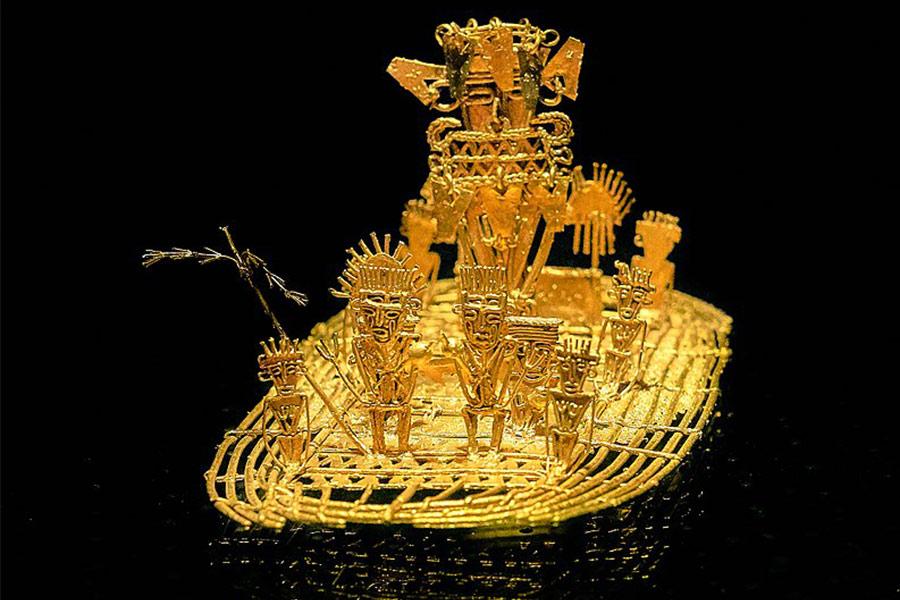 El Dorado: una ciudad hecha de oro - Muy Interesante
