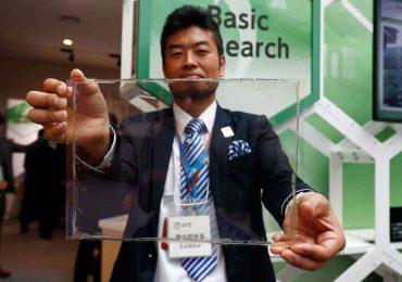 batería transparente