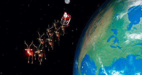 Santa Claus mapa