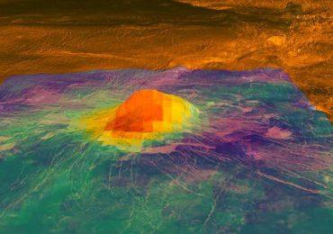 Venus volcanes