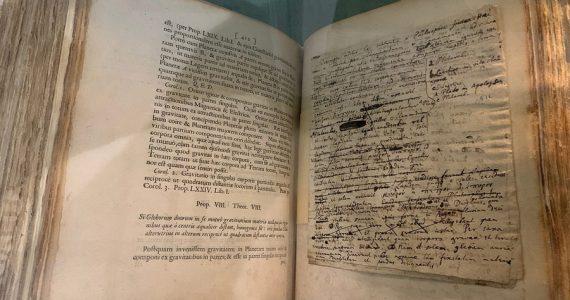 manuscrito de Isaac Newton