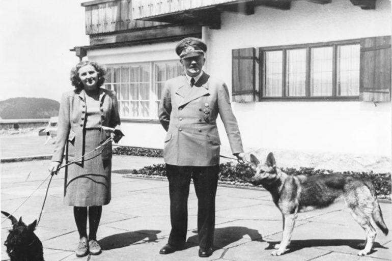 Eva Braun y Hitler