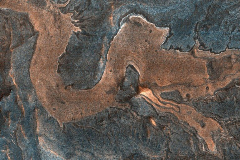 dragón en Marte