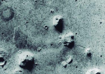 cara en Marte