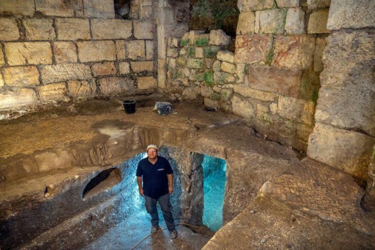 cámaras subterráneas Jerusalén