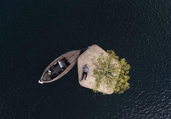 Islas flotantes Copenhague