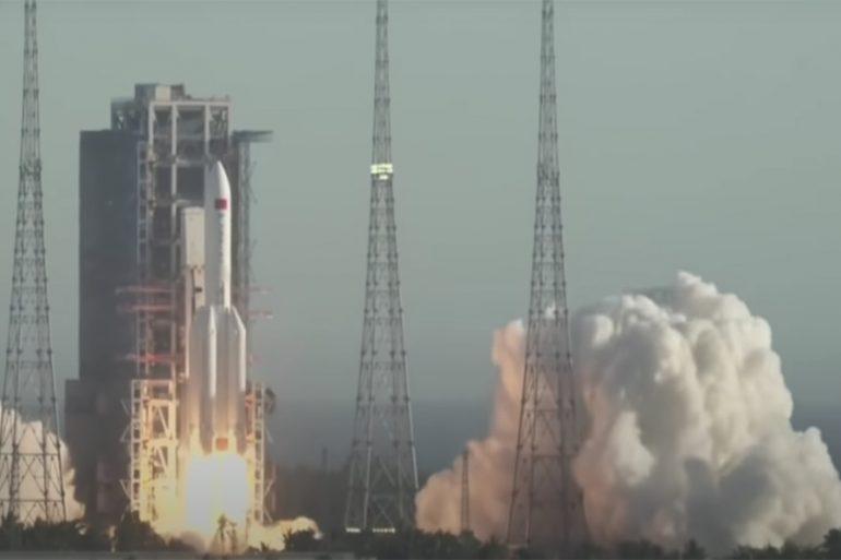 cohete chino CZ5B
