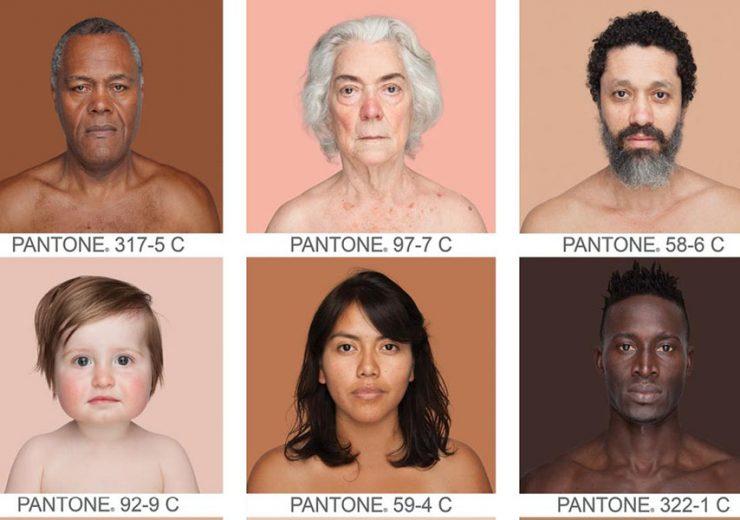 retratos color de la piel