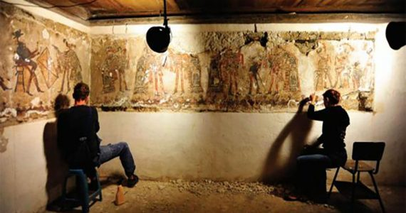 murales mayas Guatemala
