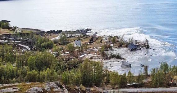 Deslizamiento de tierra Noruega