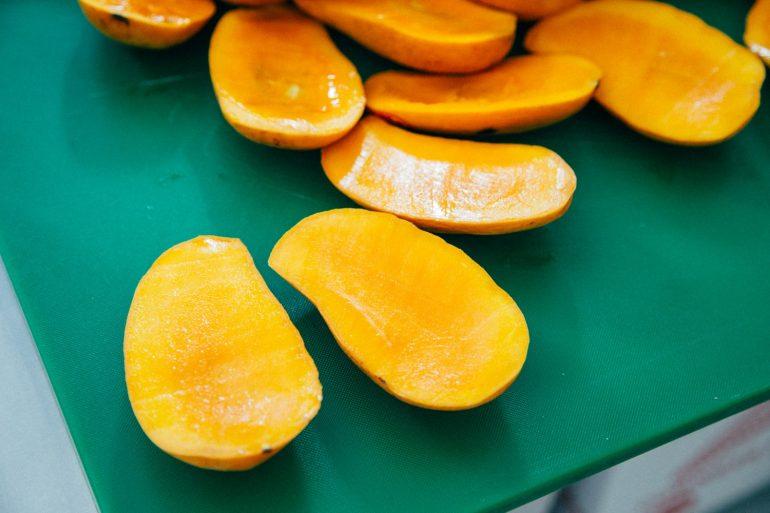 cáscara de mango cicatrizantes