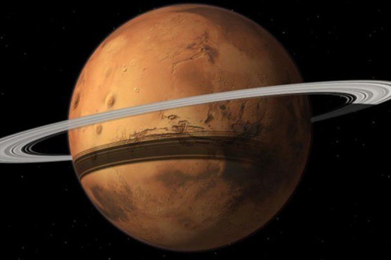 Marte una vez tuvo un anillo