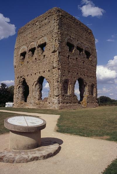Roman Janus Temple, Autun, France