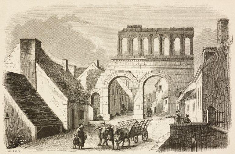 tumbas halladas en autun ciudad romana