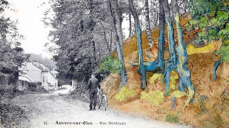 Van Gogh raíces de árbol