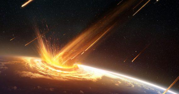 asteroide impacte la Tierra