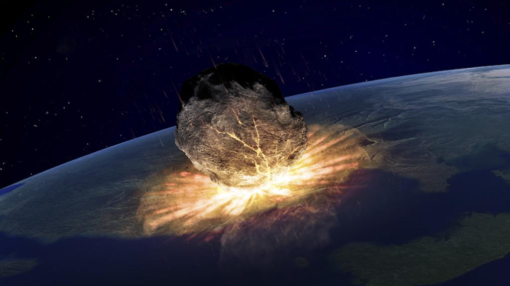 se puede estrellar un meteorito contra la tierra
