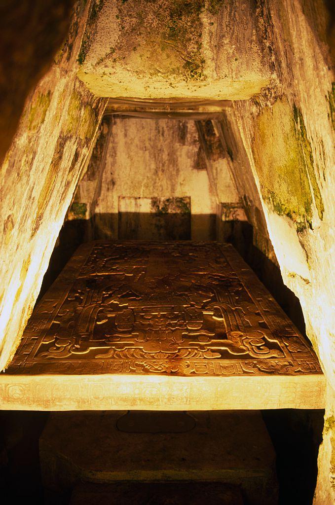 cámara lápida de Pakal