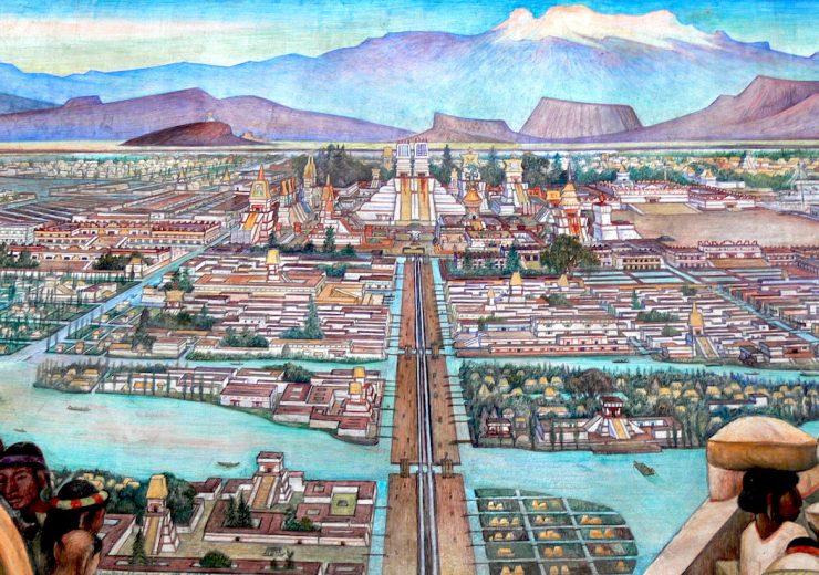 Aztlan Tenochtitlan
