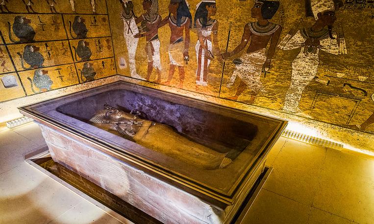 maldición de tutankamón