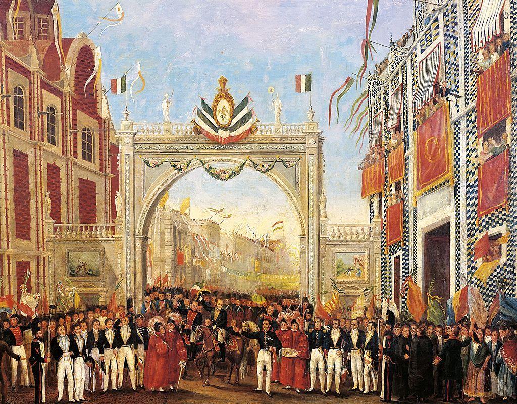 Independencia de México etapas fiestas patrias